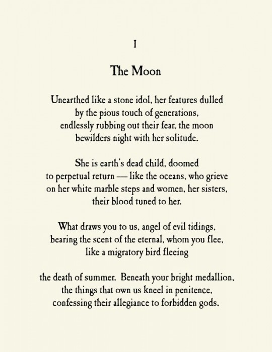 Moon Love Poems