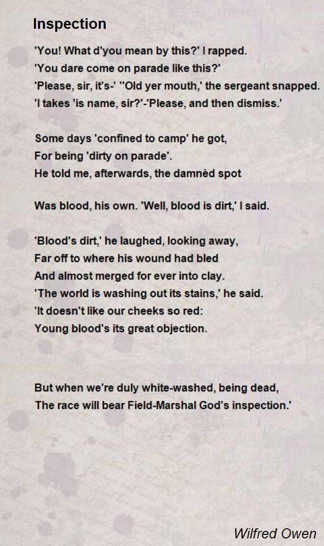 Wilfred Owen Poems