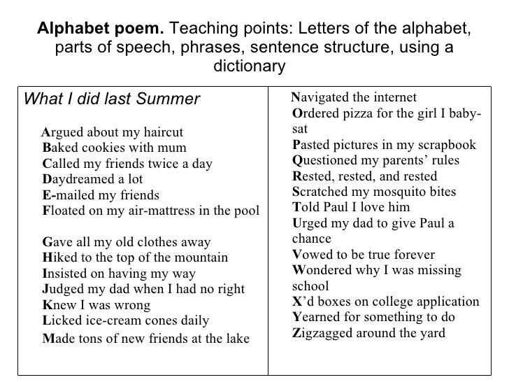 abc baby poems