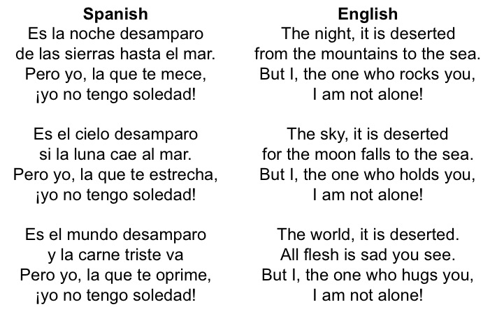 Short Spanish Poems