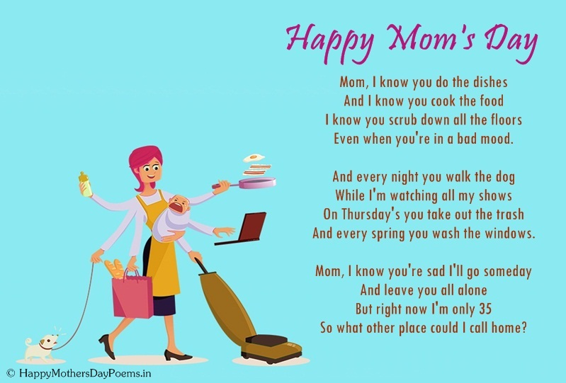 Funny mothers day poems thecheapjerseys Choice Image