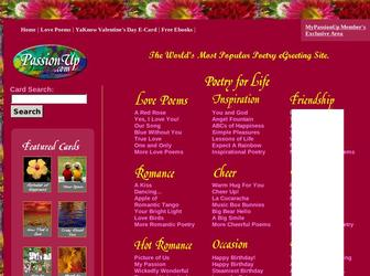 Passion up poems passionup passionup love s and poetry egreetings m4hsunfo