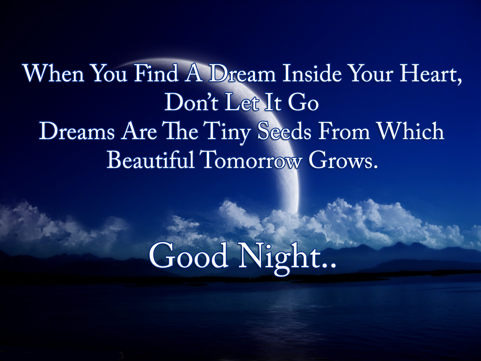 Sweet Goodnight Poems