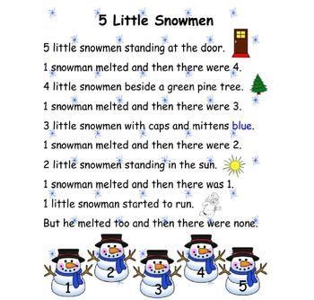 photo regarding Chubby Little Snowman Poem Printable identify Snowmen Poems