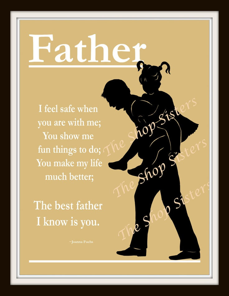 Fathers Day Quotes From Daughter: Father Daughter Poems