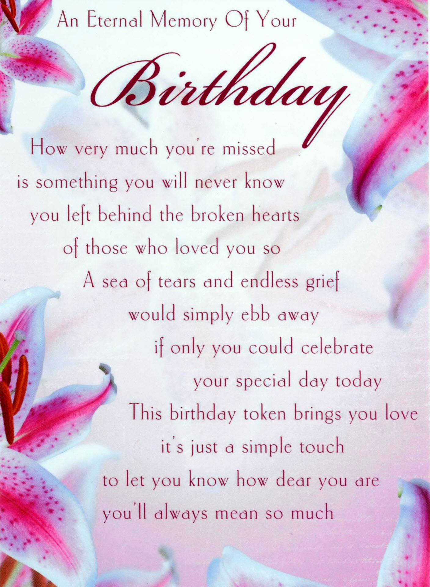 Happy birthday to my dad in heaven poems kristyandbryce Choice Image