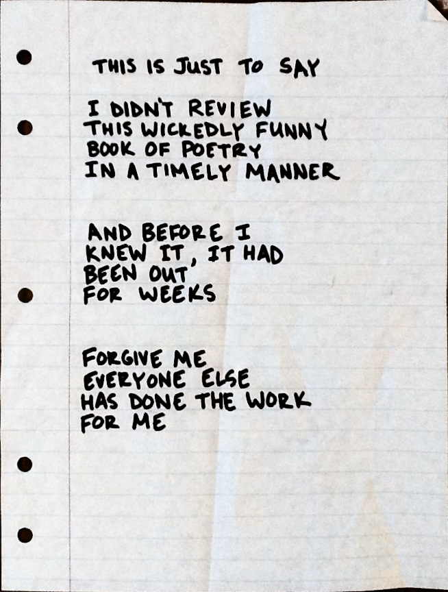 apologising poems