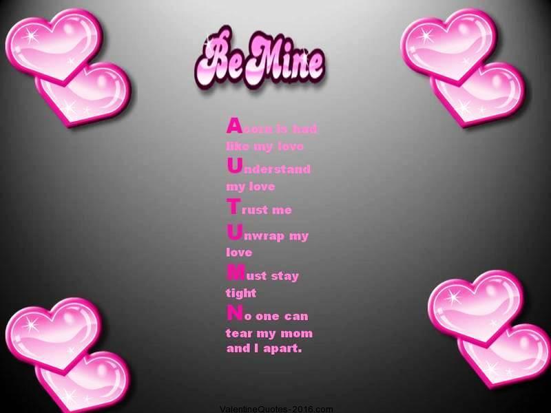 Short Valentines Poems