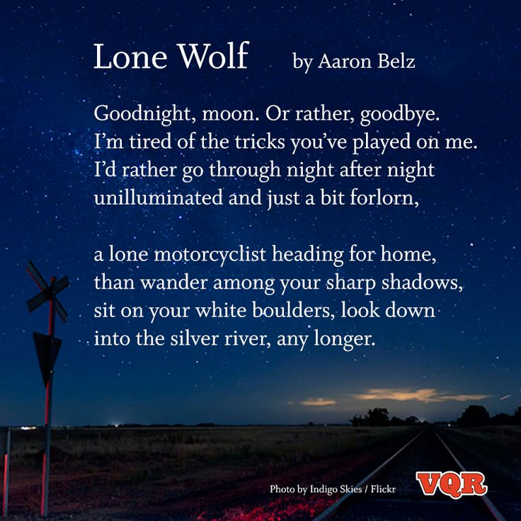 Wolves Poems