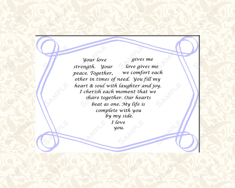 Love Wedding Poems