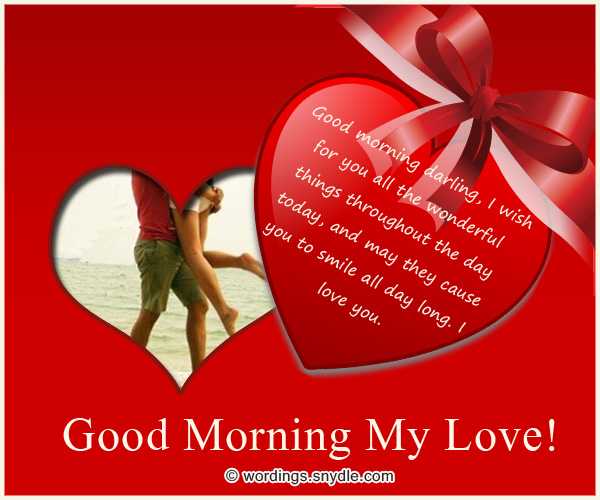 Romantic Good Morning Text Quotes: Romantic Good Morning Poems