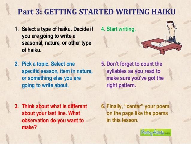 How To Write A Haiku Poem (With Sample Poems) – Wikihow inside Haiku Poem Format