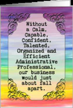 funny professional administrative day quotes, secretary ...