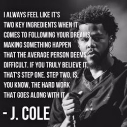 J cole Poems