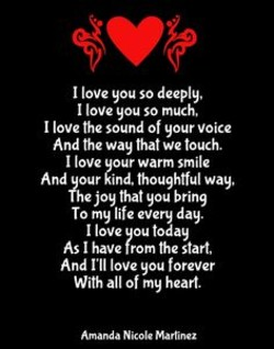 I love you babe Poems