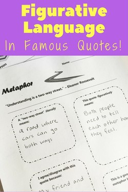 Figurative language Poems