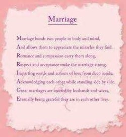Troubled marriage Poems