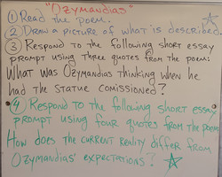 """ozymandias thesis statement At first glance, the poem """"ozymandias"""" by percy byssch shelley is nothing like   [and} again, the image of ozymandias' statement is followed."""
