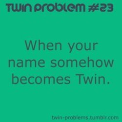 Funny Twin Poems