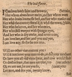 analysis of john donnes poem the canonization essay John donne: poems study guide contains a biography of john donne, literature essays, quiz questions, major themes, characters, and a full summary and analysis study guides q & a.