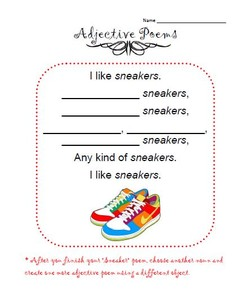Adjectives Poems