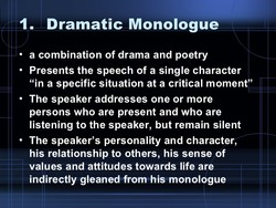 in your post identify key qualities of drama and poetry which emphasize their performative qualities In your post, identify key qualities of drama and poetry which emphasize their performative qualities discuss how these characteristics shape your reading response support your views with at least one example of a dramatic text and one example of a poem.