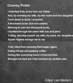 cooney potter