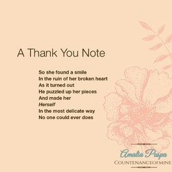 thank you love poems for him