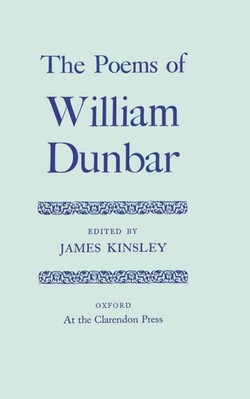 william dunbar lament for the makers