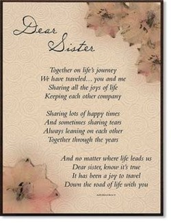 Grieving Sister Poems